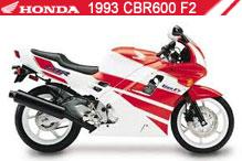 1993 Honda CBR600F2 accessoires