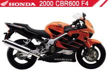 2000 Honda CBR600F4 accessoires