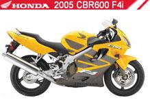 2005 Honda CBR600F4i accessoires