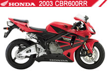 2003 Honda CBR600RR accessoires