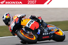 2007 Honda accessoires