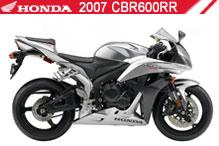 2007 Honda CBR600RR accessoires