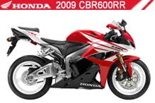 2009 Honda CBR600RR accessoires