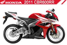 2011 Honda CBR600RR accessoires