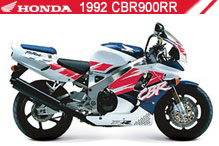 1992 Honda CBR900RR accessoires