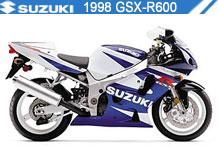 1998 Suzuki GSXR600 accessoires