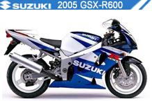 2005 Suzuki GSXR600 accessoires