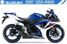 2007 Suzuki GSXR600 accessoires