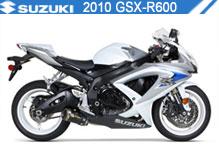 2010 Suzuki GSXR600 accessoires