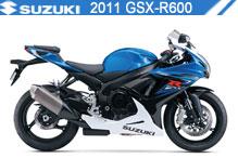 2011 Suzuki GSXR600 accessoires
