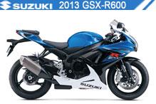 2013 Suzuki GSXR600 accessoires