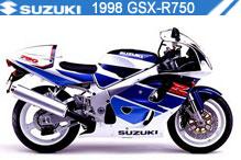1998 Suzuki GSXR750 accessoires