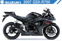 2007 Suzuki GSXR750 accessoires