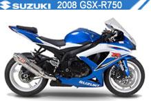 2008 Suzuki GSXR750 accessoires