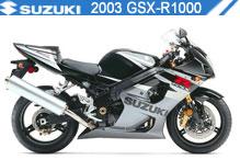 2003 Suzuki GSXR1000 accessoires