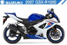2007 Suzuki GSXR1000 accessoires