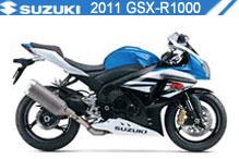 2011 Suzuki GSXR1000 accessoires