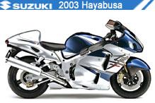 2003 Suzuki Hayabusa accessoires