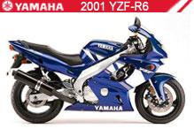 2001 Yamaha YZF-R6 accessoires