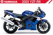 2003 Yamaha YZF-R6 accessoires
