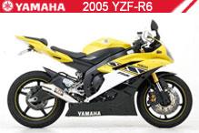 2005 Yamaha YZF-R6 accessoires