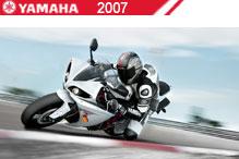 2007 Yamaha accessoires