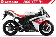 2007 Yamaha YZF-R1 accessoires