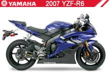 2007 Yamaha YZF-R6 accessoires