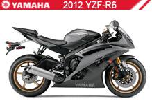 2012 Yamaha YZF-R6 accessoires