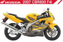 2007 Honda CBR600F4i accessoires