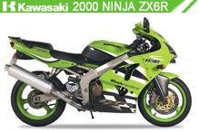 2000 Kawasaki Nina ZX-6R accessoires