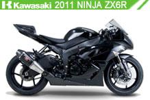 2011 Kawasaki Ninja ZX-6R accessoires