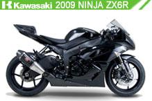 2009 Kawasaki Ninja ZX-6R accessoires