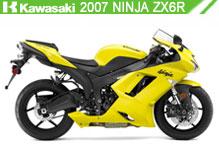 2007 Kawasaki Ninja ZX-6R accessoires