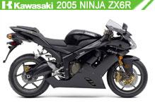 2005 Kawasaki Ninja ZX-6R accessoires