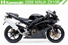 2005 Kawasaki Ninja ZX-10R accessoires