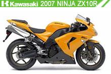 2007 Kawasaki Ninja ZX-10R accessoires