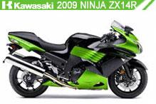 2009 Kawasaki Ninja ZX-14R accessoires