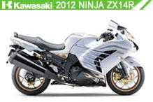 2012 Kawasaki Ninja ZX-14R accessoires