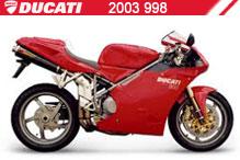 2003 Ducati 998 accessoires