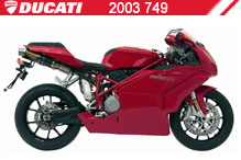 2003 Ducati 749 accessoires