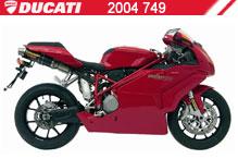 2004 Ducati 749 accessoires