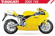 2005 Ducati 749 accessoires