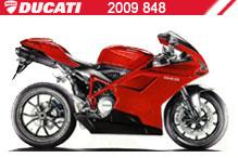 2009 Ducati 848 accessoires