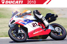 2010 Ducati accessoires