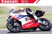 2012 Ducati accessoires