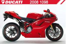 2008 Ducati 1098 accessoires