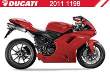 2011 Ducati 1198 accessoires
