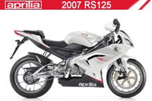 2007 Aprilia RS125 accessoires