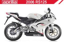 2006 Aprilia RS125 accessoires